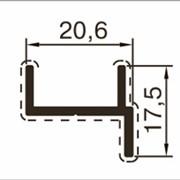 Дверной профиль для сантехнических перегородок фото
