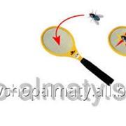 Ракетка-мухобойка электрическая большая фото