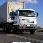 Перевозки грузов различными видами автотранспорта фото