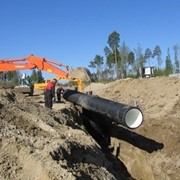 Укладка трубопроводов канализационных безнапорных фото