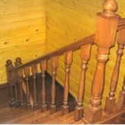 Изготовление лестниц из массива дерева фото