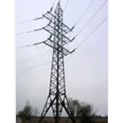 Опоры высоковольтных линий электропередачи фото