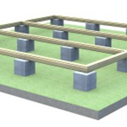 Фундамент опорно-столбчатый фото