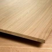 Щит мебельный дуб 40х300х3000 ВВ срощ.  фото