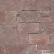 Песчаник красный, пиленый с двух сторон фото