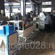 Стренговая грануляционная линия для ПП, ПЭ фото