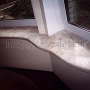 Подоконник из литьевого мрамора фото