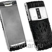 Телефон Vertu Signature Touch Touch Silver Alligator 87126 фото