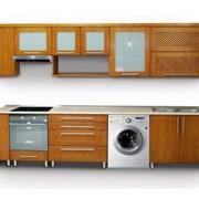 Кухня, дерево фото