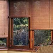 Шторы бамбуковые фото