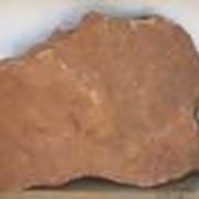 Песчаник рельефный Фонтанка красный фото