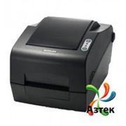 Принтер этикеток Bixolon SLP-TX400EG термотрансферный 203 dpi темный, Ethernet, USB, RS-232, кабель, 106217 фото