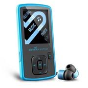 SLIM 3 Energy Sistem плеер MP3, 4 Gb, Голубой фото