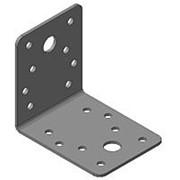 Кронштейн крепёжный равносторонний 70х70х55х2мм из оцинкованной стали, арт. 1999 фото