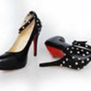 Блочки обувные фото