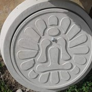 Люки для криниць і каналізацій D1м, фото