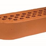 Кирпич радиусный Terca Red гладкий, 250*85*65 мм фото