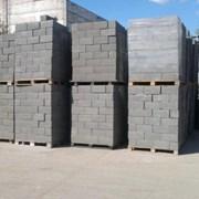 Заводской керамзитобетонный блок шлакоблок фото