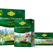 Чай зеленый Жасмин и магнолия фото