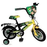 Велосипед 12 Навигатор Ben 10 (желто/черный) ВМ312033 фото