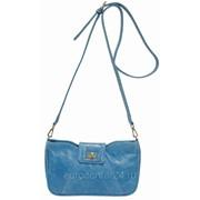 Стильная небольшая женская сумочка из итальянской кожи 1-3097 фото