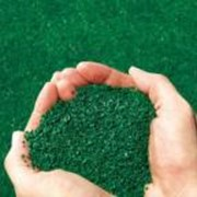 Засыпка для искусственной травы фото