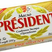 Масло Президент 200г фото