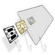 Производство пластиковых карт 4442IC Bok Electronic смарткарта фото