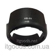 Бленда Nikon HB-69 AF-S DX NIKKOR 18-55mm f/3.5-5.6G VR II D3200 D3300 D5200 D5300 (аналог) 2363 фото
