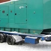 Аренда дизель-генератор 400 кВт кожух-шасси фото