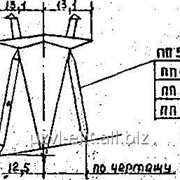Опора ВЛ 500 кВ ПП500-7-III