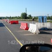 Водоналивные барьеры фото