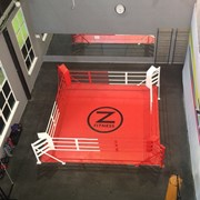Ринг боксерский на упорах 6х6м, боевая зона 5х5м, монтажная площадка 6х6м фото