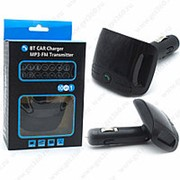 FM Модулятор Car Charger Mp3-FM с пультом Black (Черный) фото