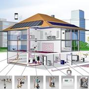 Монтаж отопления и водоснабжения фото