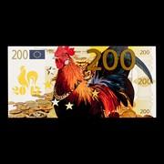Календари - Банкноты 4 / Удача в год Петуха / набор 4 шт x01043-04 фото