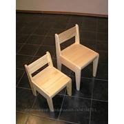 Стул-трансформер детский деревянный размер 30-36 фото
