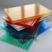 Сотовый поликарбонат цветной 10 мм фото