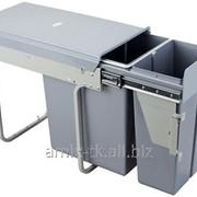 Контейнер для отходов, модуль 30см, 30л. - CLG30C/F-SZ фото