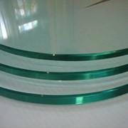 Криволинейная обработка торца стекла, зеркала 10 мм фото