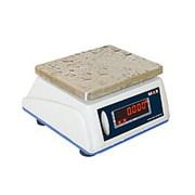 Весы порционные влагостойкие с дисплеем для клиента MAS MSWE-06D фото