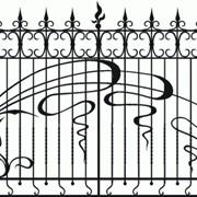 Заборы, ворота, калитки, столбы заборные фото