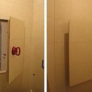 Люк ревизионный невидимка,стеновой люк под плитку-Модель Euro фото