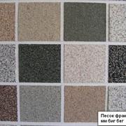 Декоративная мраморная крошка песок фракция 0-5 мм биг бег фото