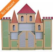 Стеллаж для пособий и игрушек Замок №2 фото