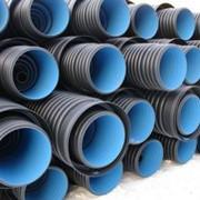 Трубы гофрированные для канализации, водостока, дренажа фото