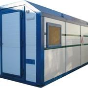 Насосная станция 6800х2450х2600 для парекачки воды с насосами Grundfos CRNE фото