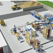 Автоматическая линия по производству бетонных изделий методом вибропрессования Т10 фото