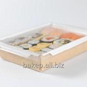 Салатник с прозрачной крышкой Салат 400 фото
