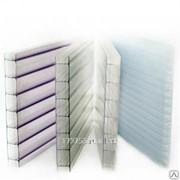 Сотовый поликарбонат Sellex синий 10 мм фото